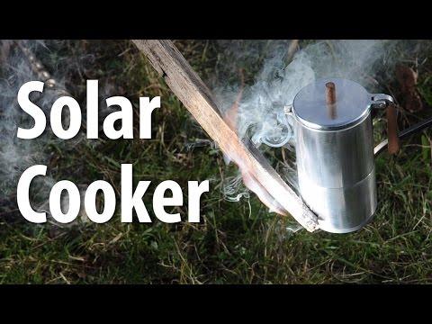 DIY Parabolic Solar Cooker