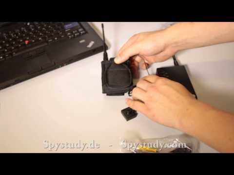 Spy Wireless Button Camera SHG0225 - with long transmission range over 1500 meters
