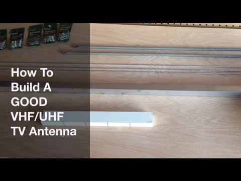 DIY - FREE TV - How To Build a GREAT TV Antenna