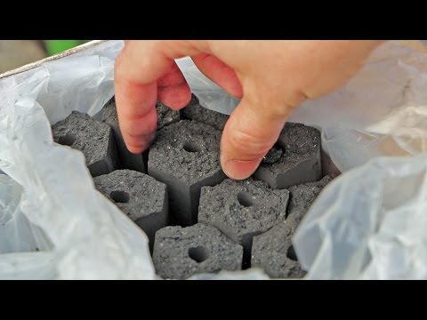 NAPOLEON COCONUT BRIQUETTES - TEST - By Customgrill