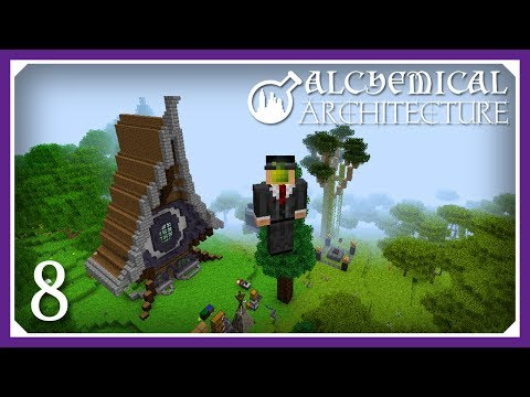Alchemical Architecture   Finishing The Monk Mod!   E08 (Magic