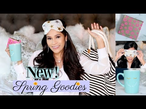 New Spring Goodies! 💐🌻 The Best Of The Best Unboxing 2018! MissLizHeart