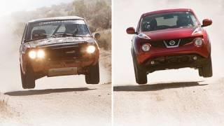 2011 Nissan Juke vs. 1971 Datsun 510 Rally Race | Comparison Test | Edmunds.com