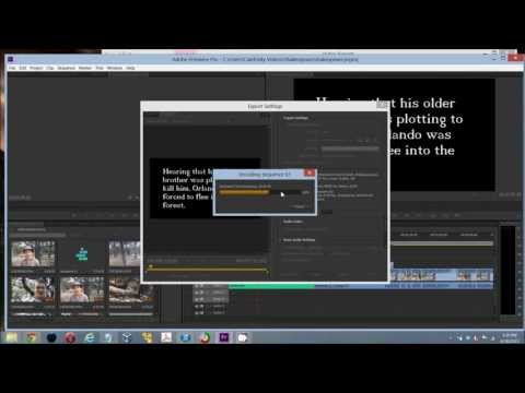 How to Export a Project File to a Video File - Examples for Adobe Premier, VideoPad, and Movie Maker