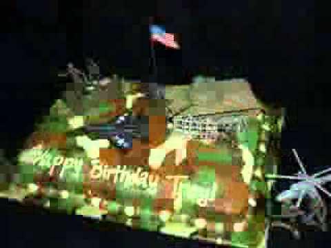 Army cake decoration ideas