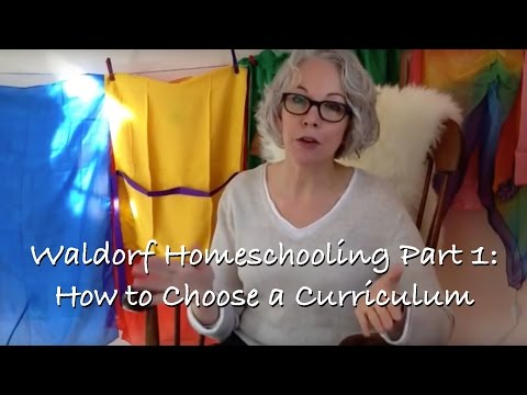 Sunday with Sarah: Waldorf Homeschooling Part 1 - How to Choose a Curriculum