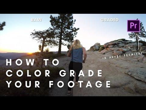 How To Color Grade In Premiere Pro | Adobe Premiere Tutorial