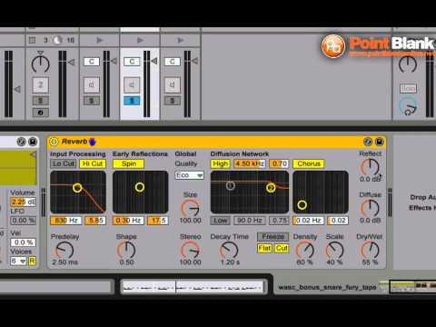 Ableton Tutorial - Reverb - Dub FX
