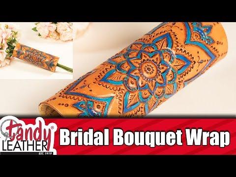 DIY Bridal Bouquet Wrap Part 1 of 2