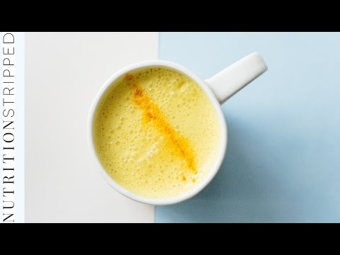 How to Make Turmeric Milk / Golden Milk   Nutrition Stripped