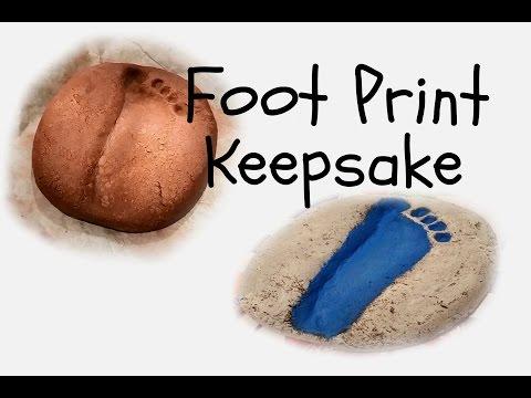 Stepping Stone Footprint Keepsake/Gift