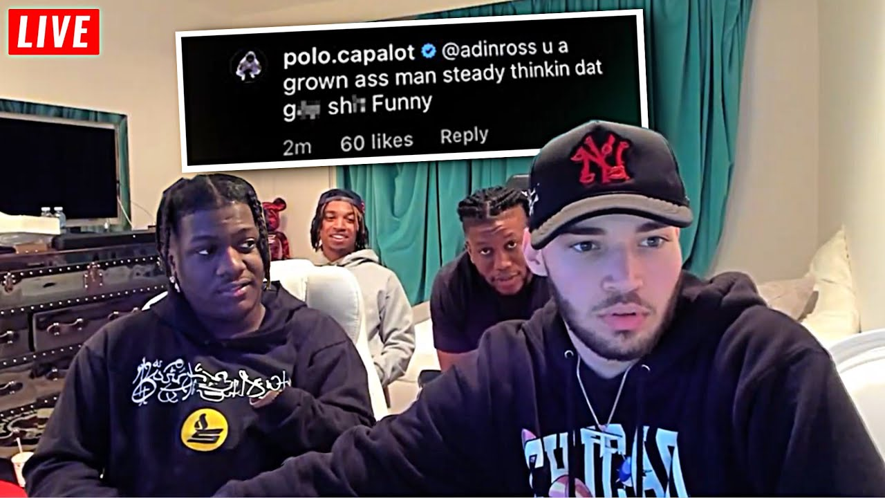 Lil Yachty Tells Adin Ross That Polo G Wants To Fight Him For Acting Sus...