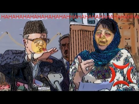 Mimic Conversation of Omar Abdullah and Mehbooba Mufti :Kashmir