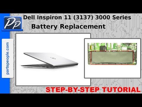 Dell Inspiron 11 (3137) 3000 Series Battery Video Tutorial Teardown