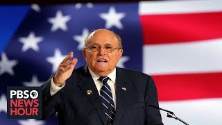 As Giuliani defies subpoena, testimony reveals officials raised concern about his conduct