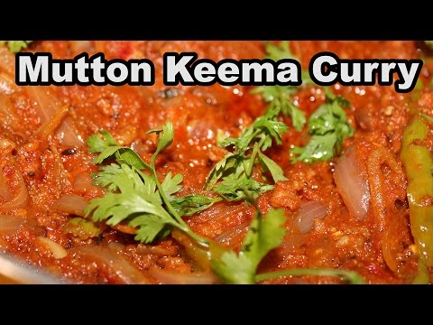 Telangana Style of Cooking Mutton Kheema Curry @ Mana Telangana Vantalu