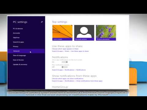 How to access HomeGroup password in Windows® 8.1