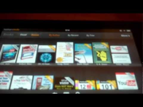 Restoring Missing eBooks to the Kindle Fire Tablet's Cloud Tab Section