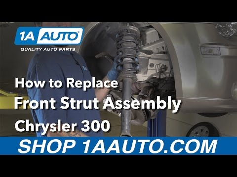 How to Replace Install Front Strut Assembly 2008 Chrysler 300