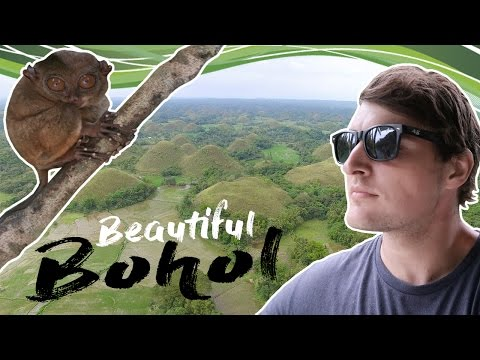 Tarsier Chills and Chocolate Hills - Bohol Island, Philippines