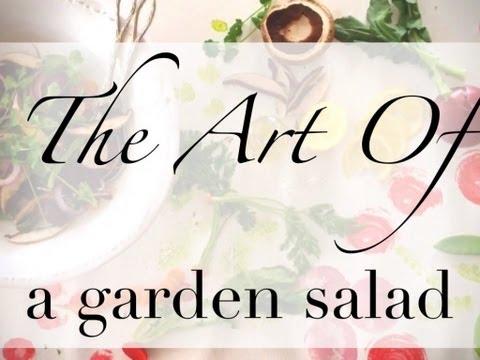 How to make a Garden Salad.