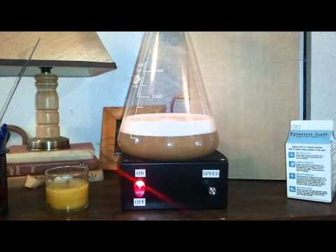 DIY Yeast Stirrer in ACTION