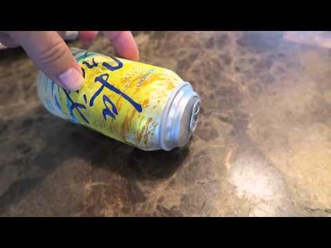 Frozen Soda Can