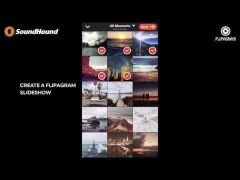Flipagram Partners with SoundHound to Add Any Song You Hear to Your Videos