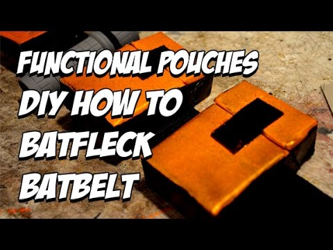 BvS Functional Batbelt how to DiY Batfleck Batman Costume Cosplay part 4