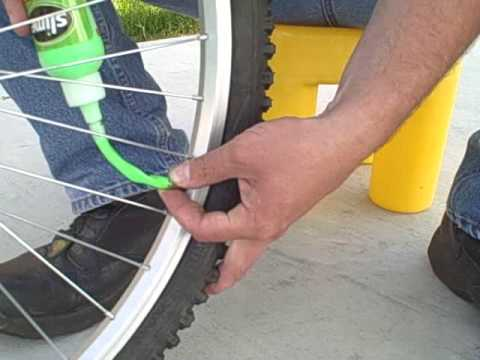 How to flat proof your bicycle tires.