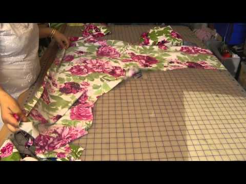 Umbrella Dress: Cutting (Smaller)