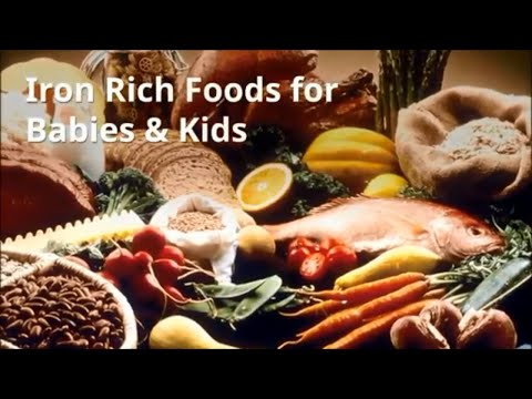 Top Iron Rich Foods for Babies & Kids |  Baby Foods