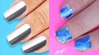 Trying 26 NAIL HACKS EVERY GIRL SHOULD TRY By 5 Minute Crafts
