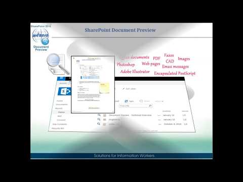 SharePoint Document Preview 2016 Overview