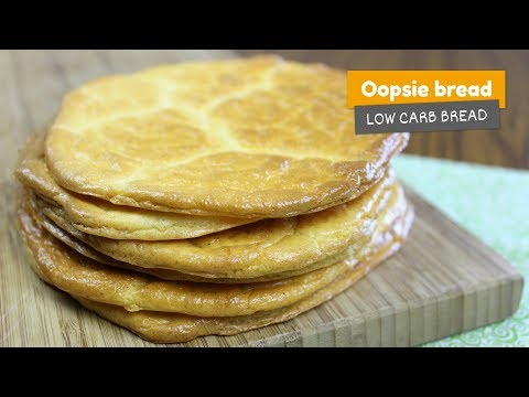 OOPSIE BREAD • Low Carb Bread #10