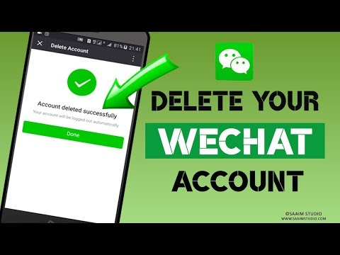 How to delete WeChat Account? delete WeChat Account Permanently