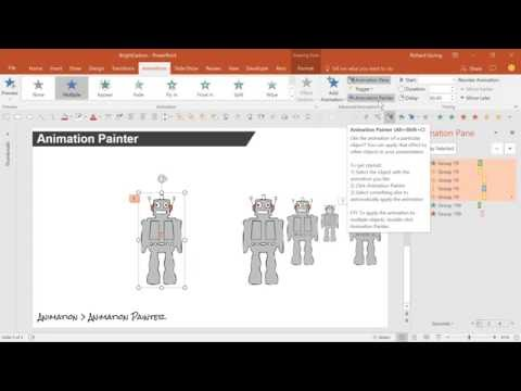 Formatting Tricks Format Painter Animation Painter Advanced PowerPoint Tutorial