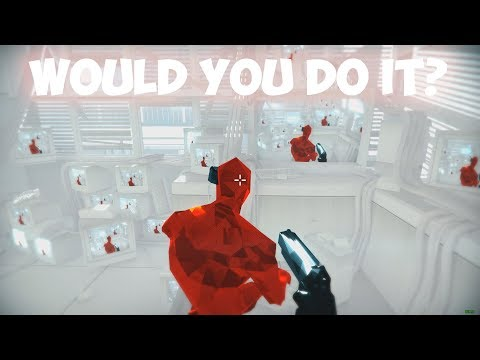 ITS OVER! THE END! Superhot Funny Moments!