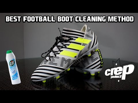 Best Way To Clean Your Football Boots - Football Cleaning Hack 2018