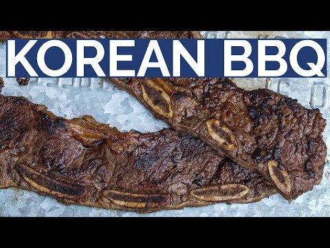 KOREAN BEEF SHORT RIBS  |  LA Galbi style