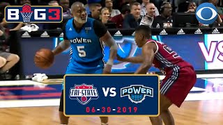 J-Rich throws DOWN, but the Cat reigns supreme | Tri-State vs. Power | Big 3 Recap | CBS Sports HQ