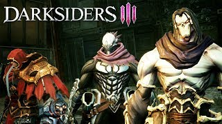 Darksiders 3 All Four Horsemen Of The Apocalypse Scenes