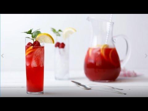 Raspberry Hibiscus Lemonade