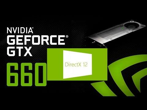 Nvidia GTX660 DirectX 12 Windows 10 3dmark Test