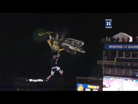 Heath Frisby Snowmobile Best Trick Gold