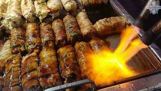 Download 부평깡통야시장의 먹거리투어 part 1 / Busan Night Market Tour 1 / Korean street food / 길거리음식 / 부산 깡통시장 Video