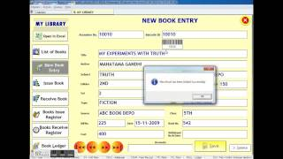 JavaFX Library Software From Scratch #1 : Developing UI For