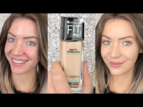 First Impressions | Maybelline FIT ME! Matte and Poreless Foundation | Stephanie Lange