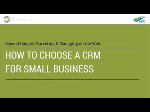 How to Choose a CRM for Small Business