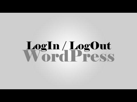 How to Login & Logout WordPress site